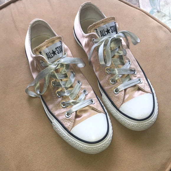 Converse Shoes | Champagne Gold